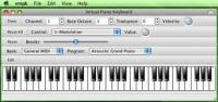 Virtual MIDI Piano Keyboard 0.5.1 screenshot. Click to enlarge!