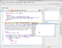 XMLmind XML Editor 6.0 screenshot. Click to enlarge!