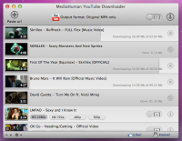 YouTube Downloader 3.4.7 screenshot. Click to enlarge!