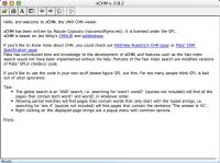 xCHM 1.24 screenshot. Click to enlarge!