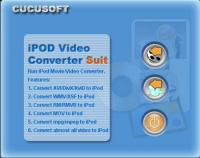 01 Cucusoft iPod Video Converter + DVD 2.2 screenshot. Click to enlarge!