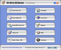 101 All to CD Burner 2.1.8 screenshot. Click to enlarge!