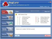 1st RegCure 6.7.19.1.9 screenshot. Click to enlarge!