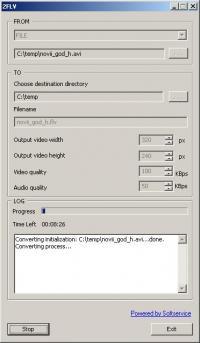 2FLV 1.0 screenshot. Click to enlarge!