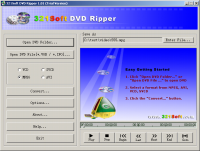 321 Soft DVD Ripper 1.05 screenshot. Click to enlarge!