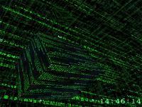 3D Matrix Screensaver 1.4 screenshot. Click to enlarge!