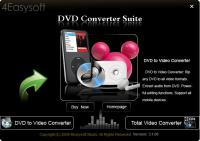 4Easysoft DVD Converter Suite 3.2.20 screenshot. Click to enlarge!