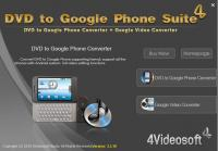 4Videosoft DVD to Google Phone Suite 3.3.16 screenshot. Click to enlarge!