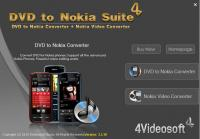 4Videosoft DVD to Nokia Suite 3.3.26 screenshot. Click to enlarge!