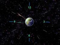 7art Earth Clock ScreenSaver 1.1 screenshot. Click to enlarge!