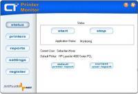 A+ Printer Monitor 3.2 screenshot. Click to enlarge!