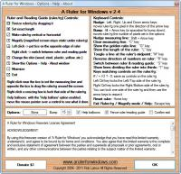 A Ruler for Windows 3.3.3 screenshot. Click to enlarge!