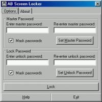 AB Screen Locker 3.62 screenshot. Click to enlarge!