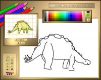 ABC Drawing School III - Dinosaurs 1.11.0424 screenshot. Click to enlarge!
