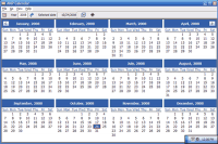 AMP Calendar 2.42 screenshot. Click to enlarge!