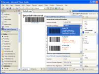 ASP.NET Barcode Professional 7.0 screenshot. Click to enlarge!