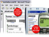 ASP.NET Mobile Barcode Professional 2.0 screenshot. Click to enlarge!