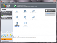AVG Antivirus Free 17.3.3443 screenshot. Click to enlarge!