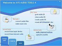 AVS Audio Tools for 2007 4.3 screenshot. Click to enlarge!