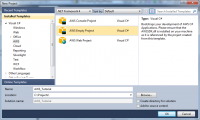 AWS SDK for .NET 2.3.44 screenshot. Click to enlarge!