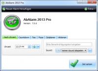 AbAlarm 2015 9.0 screenshot. Click to enlarge!