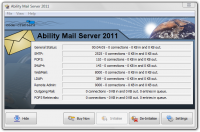 Ability Mail Server 4.2.2 screenshot. Click to enlarge!