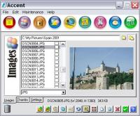 Accent 2.6 screenshot. Click to enlarge!