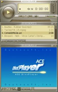 Ace DivX Player 2.1 screenshot. Click to enlarge!