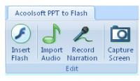 Acoolsoft  PPT to Flash 2.0.0 screenshot. Click to enlarge!