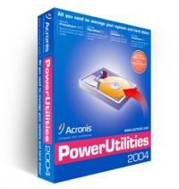 Acronis Power Utilities 2004 screenshot. Click to enlarge!