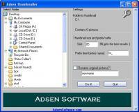 Adsen Thumbnailer 1.2 screenshot. Click to enlarge!