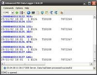 Advanced PBX Data Logger 3.3.0.415 screenshot. Click to enlarge!