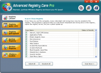 Advanced Registry Care 1.09 screenshot. Click to enlarge!
