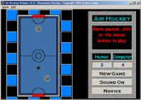 Air Hockey Deluxe 1.8 screenshot. Click to enlarge!