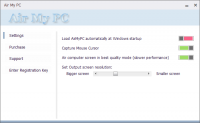AirMyPC 2.0.1 screenshot. Click to enlarge!