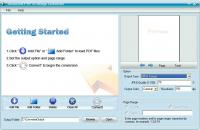 Aiseesoft PDF to Image Converter 3.0.12 screenshot. Click to enlarge!