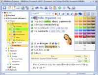 AllMyNotes Organizer Deluxe Edition 3.18.847 screenshot. Click to enlarge!