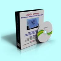 Alpha Omega Personal Information Manager 3.0 screenshot. Click to enlarge!
