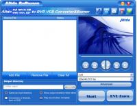 Altdo AVI MPEG RM WMV  to DVD Converter 6.5 screenshot. Click to enlarge!