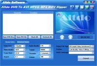 Altdo DVD to AVI MPEG MP4 MOV Ripper 6.7 screenshot. Click to enlarge!