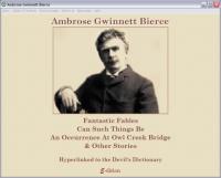 Ambrose Bierce Selected Works 2.1.0.1 screenshot. Click to enlarge!