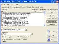 Amethyst DWG-2-DWG 2 screenshot. Click to enlarge!