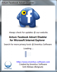 Antum Facebook Advert Disabler 1.0.0 screenshot. Click to enlarge!