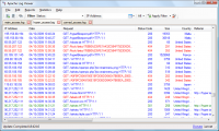Apache Log Viewer 5.30 screenshot. Click to enlarge!