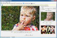 Artensoft Photo Mosaic Wizard 1.8.128 screenshot. Click to enlarge!