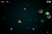 Asteroids 1.7.0 screenshot. Click to enlarge!