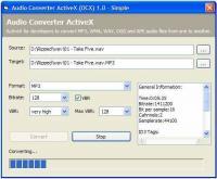 Audio Encoder Decoder ActiveX (OCX) 1.0 screenshot. Click to enlarge!