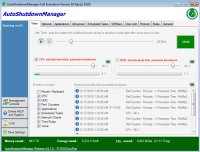 Auto Shutdown Manager 5.4.1.8 screenshot. Click to enlarge!