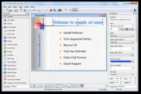 AutoPlay Menu Builder 8.0.2452 screenshot. Click to enlarge!