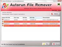 Autorun File Remover 5.0 screenshot. Click to enlarge!